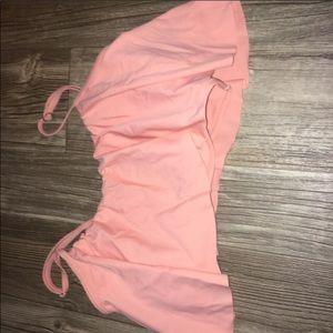 Pink CUPSHE bathing suit top